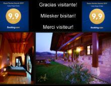 Guest Review Award 2017 pour  le gîte Angiz